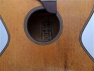 Walter Gotze Leipzig Romantic Antique Old Parlour Parlor Acoustic German Guitar photo