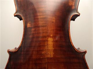 Antique Old Violin Violino Violine Viola Violin German Germany No Label Guitar photo