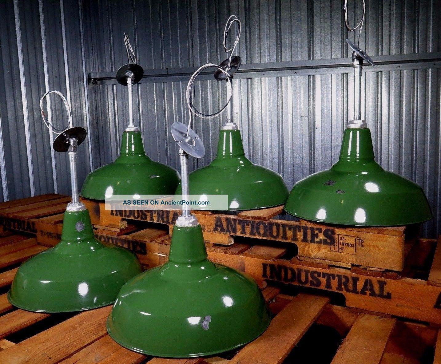 Vintage Benjamin Green Porcelain 16 Gas Station Barn
