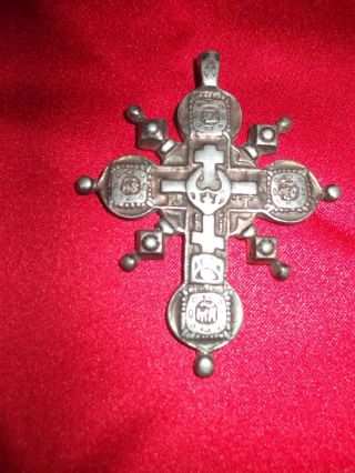 Orthodox Or Byzantine Russian Cross Pendant photo