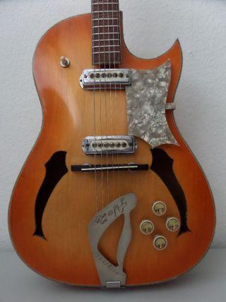 Hopf Special Old Archtop Vintage Guitar 50s 60s German Antique Rockabilly photo
