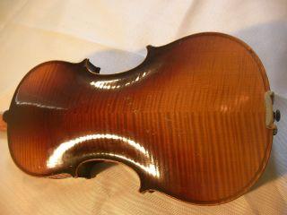 Joseph Guarnerius Fecit 1741 Fullsize Acoustic Violin Without Any Cracks photo