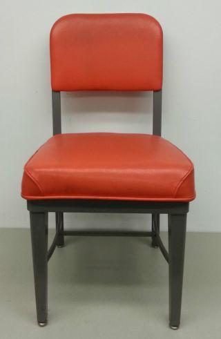 Vtg Harvard Industries 1970 ' S Industrial Metal Chair photo