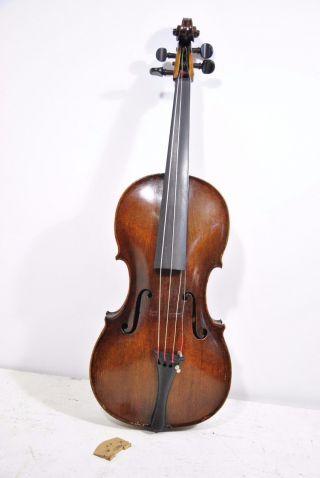 Antique Jacob Stainer Model Violin Anno 1769 W Case,  De Jacquez Violin Bridge photo