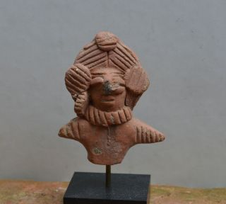 Interesting Indus Valley Part Of A Statue/idol 1th Millenium Bc photo