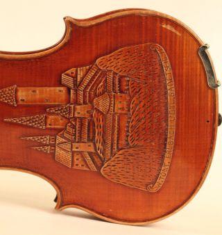 Museum Masterpiece Old Violin G.  Ornati Geige Violon Violino Violine Cello Viola photo