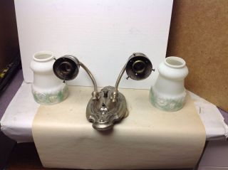 Vintage Double Shade Sconce Light photo