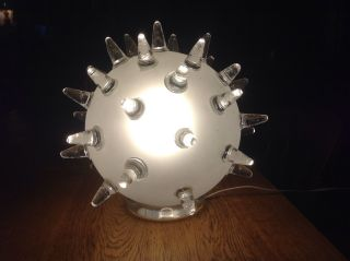 Columbia Glass Sputnik Lamp photo