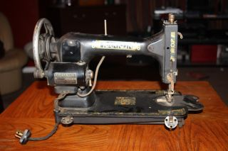 Vintage Antique Sears Franklin Rotary Sewing Machine photo