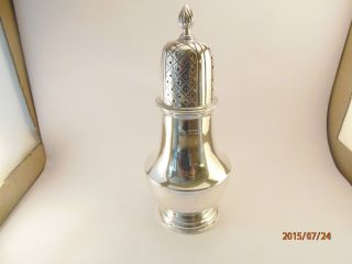 Solid Silver Sugar Sifter photo