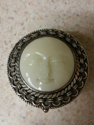 Sajen Sterling Silver Trinket Box Extremely Rare & Hard To Find photo