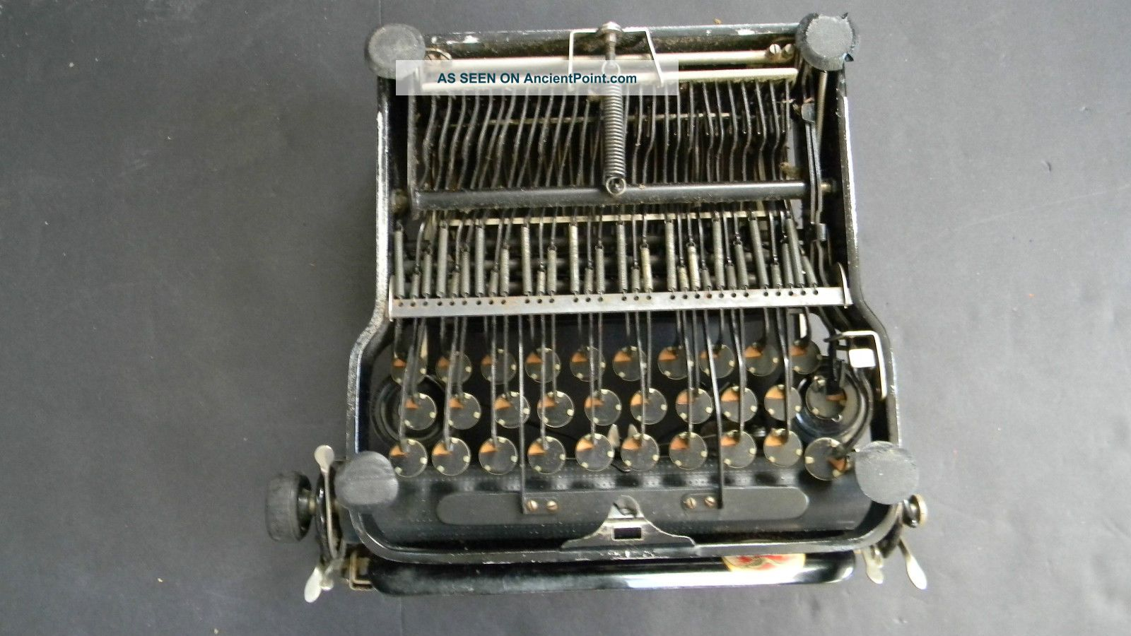 antique corona personal writing machine portable typewriter from 1921. Black Bedroom Furniture Sets. Home Design Ideas
