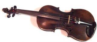 Bianconi Italian Violin 1906 Est.  Bow And Violin Case Full Size 4/4 photo