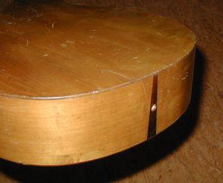 Vintage Antique German Parlor Guitar - Fine Woods,  Straight Neck photo