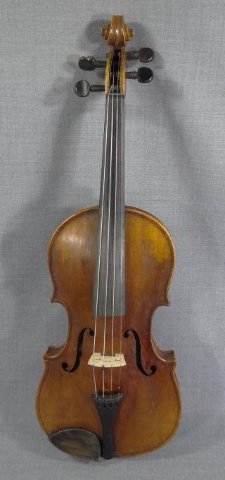 Antonius Stradivarius Violin Fiddle Cremona Italy 4/4 Concert Master Instrument photo