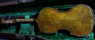 A Rare Old Italian Violin Nicolaus Bergonzi 1829 photo