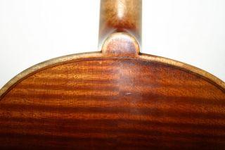 Old Antique 4/4 German Violin Label Stradivarius Exl Cond.  And Sound photo