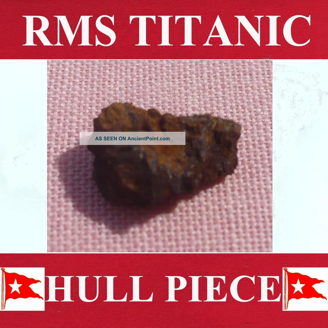 Piece From Titanic.  Metal From Cabin C81.  & History. Other Maritime Antiques photo