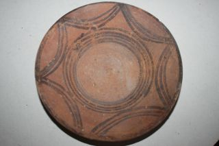 Ancient Indus Valley Pottery Plate 2800 1800 Bc Harappan photo