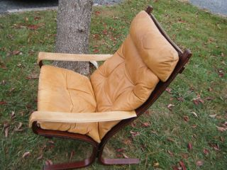 1970s Danish Modern Mcm Westnofa Ingmar Relling Siesta Lounge Arm Chair Norway photo