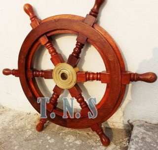 Antique Boat Ship Decor 18