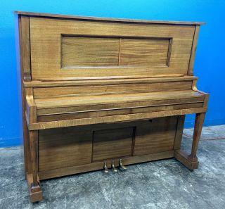 Putnam York Antique Upright Player 88 Key Rolling Piano photo