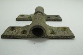 1/2 Or 5/8 Inch Galvanized Steel Oar Lock Brass Mounts Row Boat (ol815) photo
