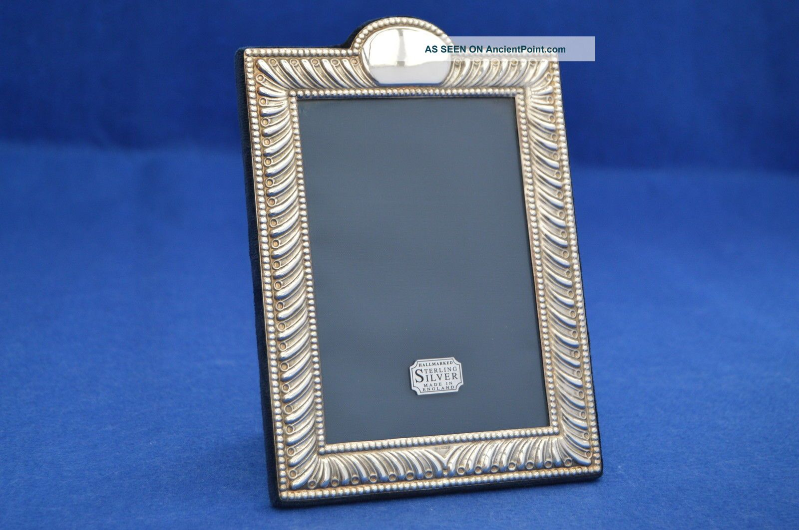 Vintage Solid Silver Photo Frame Sheffield 1992 - Photograph Picture Christmas Frames photo