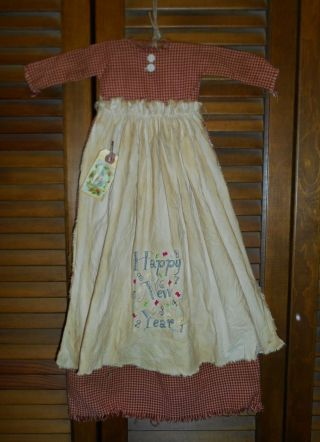 Primitive Wall Decor Dress Special Order For Amy photo