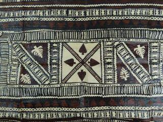 Traditional Fijian Tapa Cloth - Bark Cloth Painting Oceania Polynesia Fiji photo