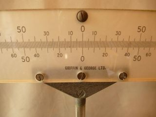 Lamp And Scale,  Vintage,  {physics} By Griffin & George,  Fantastic photo