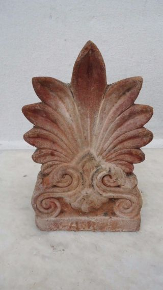 Old Greek Akrokeramo - Old Greek Ceramic Akroterian