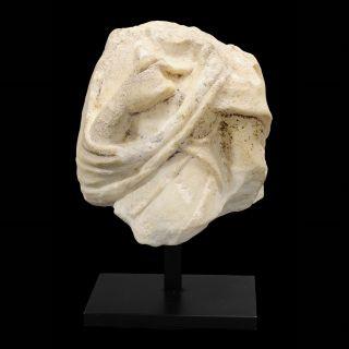 Aphrodite - Ancient Roman Marble Draped Torso photo