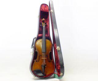 Suzuki Violin No 220 Anno 1976 Size 4/4 Nagoya Japan With Hard Case photo