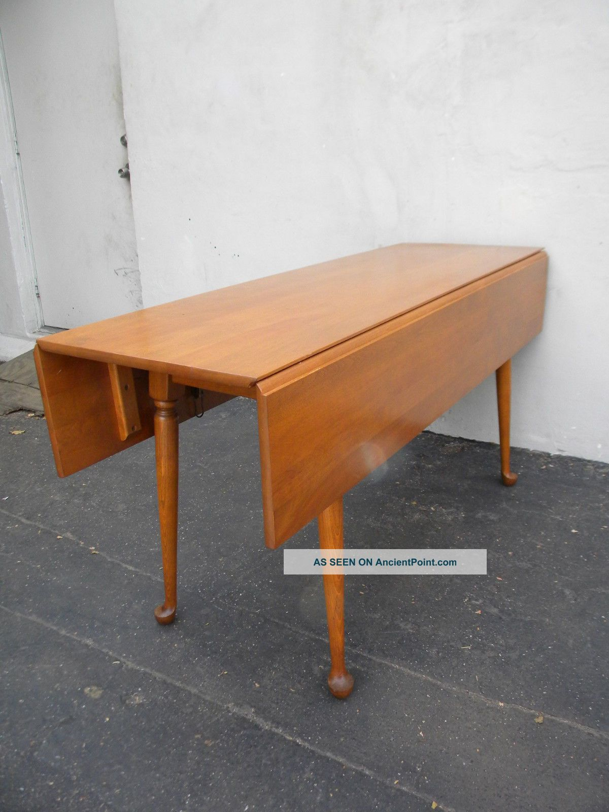Cherry Drop - Leaf Dining Table 3153 Post-1950 photo
