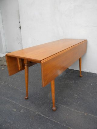 Cherry Drop - Leaf Dining Table 3153 photo