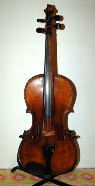 Fine German Handmade 4/4 Violin Brandmarkedl Stainer - Around 100 Years Old photo