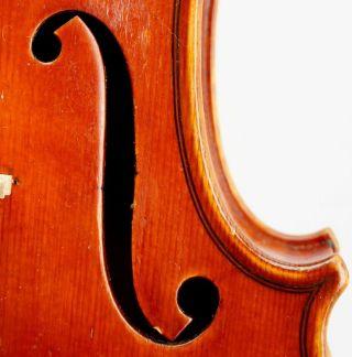 Antique Markneukirchen Violin / Heinrich Heberlein Jr.  1923 - photo