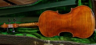 A Old Violin Leandro Bisiach 1903 photo
