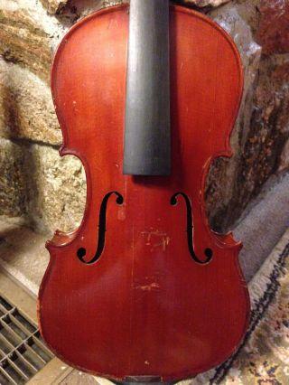 Old Antique Violin,  Label: Vuillaume Rue Croix Des Petits Champs 46 photo