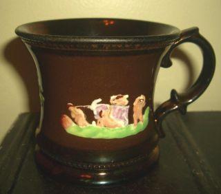 Antique Copper Luster Lustre Mug photo