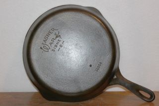 1935 - 1959 Wagner Ware 8 Cast Iron Skillet C/n 1058 S Smooth Bottom photo