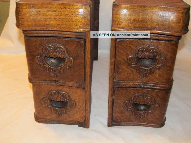 Vintage Sewing Machine Wood Cabinets Other Antique Sewing photo
