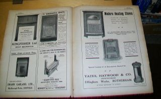 Fireplaces Stoves Etc Advertisements From Benn ' S Hardware 1915 (7 Pages) photo
