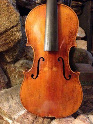 Old Antique Violin,  No Label For Restoration photo
