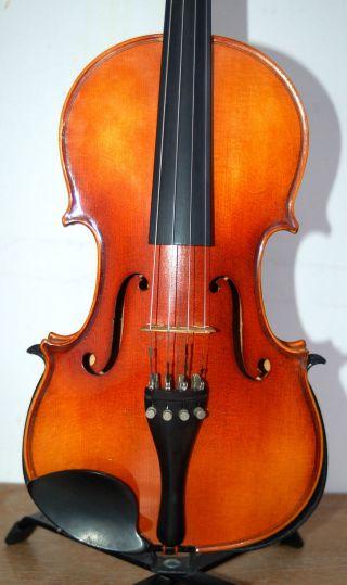 Fine German Handmade 4/4 Violin - Label Antonius Stradivarius Cremona 1713 photo