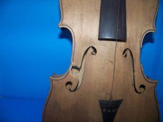 Antique G.  A.  Pfretzschner Markneukirchen Violin W/ Wood Case photo