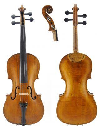 , Fine,  Antique Very Old 4/4 Master Violin photo