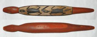 Australian Aboriginal : Old Arnhem Land Wooden Animal Figure Ca.  1960 photo