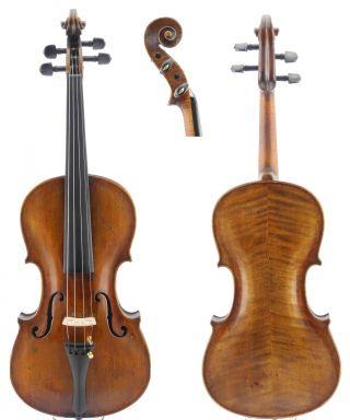 Fernando Soncini Old Labeled Antique Italian 4/4 Master Violin photo